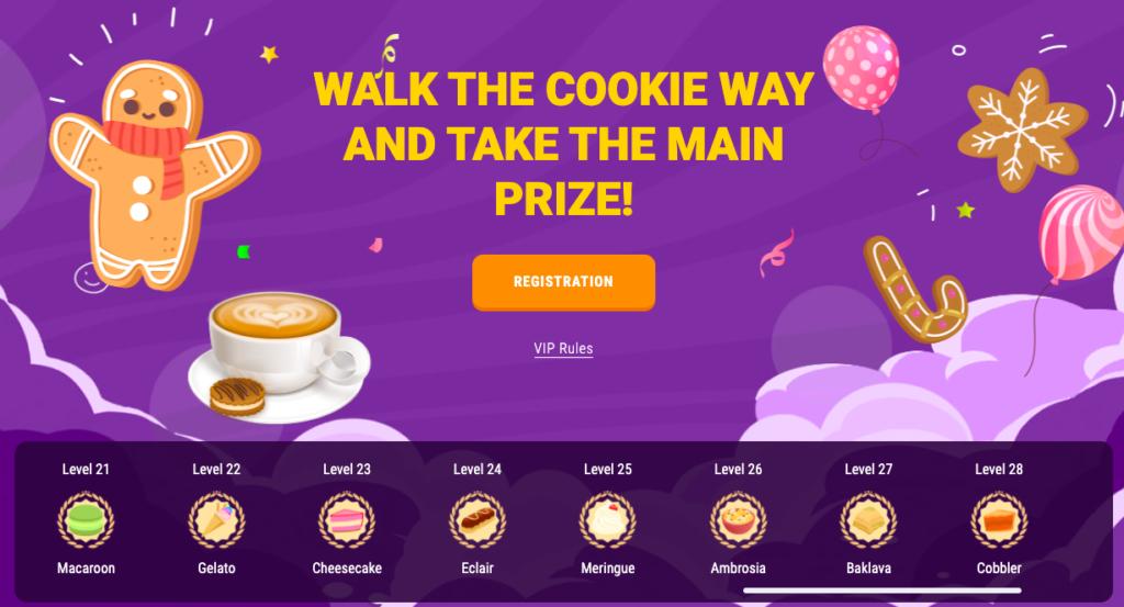 Cookie Casino VIP