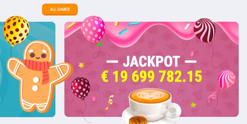 Cookie Casino Jackpot